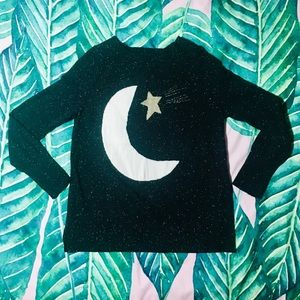 Holiday Shooting Star Sweater size M from Loft
